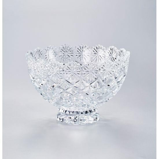 Conjunto Diamond com 6 Bowls de Cristal com Diâmetro de 12,5 Cm