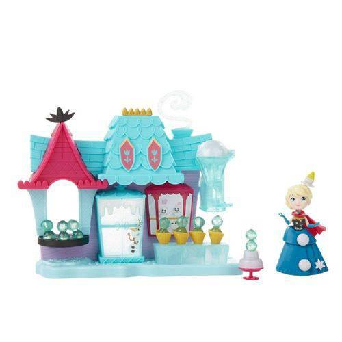 Conjunto Disney Frozen - Mini Playset - Elsa Confeitaria Arendelle B5195 - Hasbro