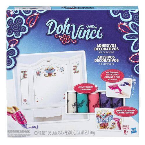 Conjunto DohVinci Adesivos Decorativos Hasbro - B6999