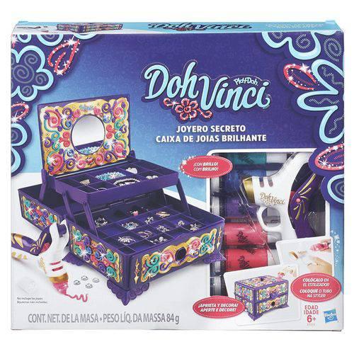 Conjunto Dohvinci Caixa de Joias Hasbro - B7003