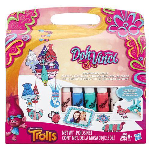 Conjunto Dohvinci Trolls Kit Hasbro - B8983