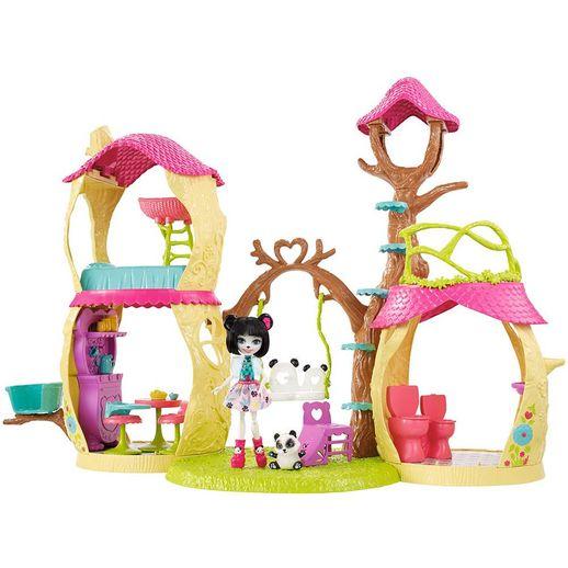 Conjunto Enchantimals Casa dos Pandas - Mattel
