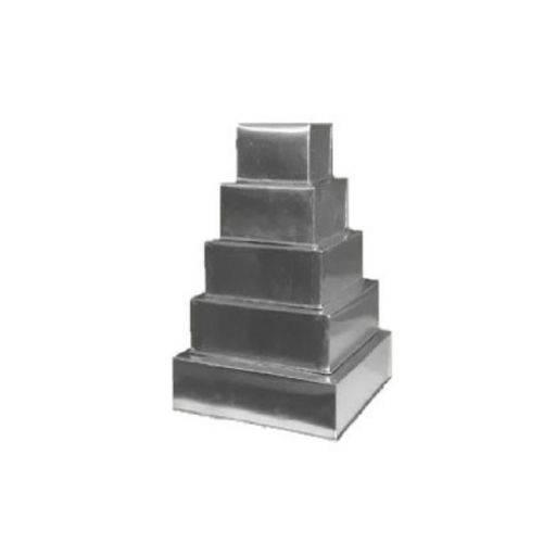 Conjunto Forma Quadrada com 5 Peças