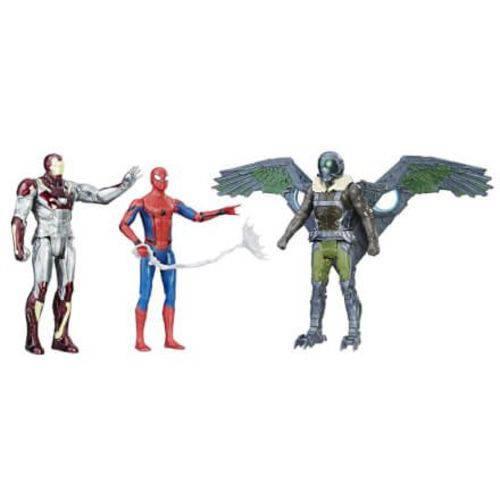 Conjunto Homem Aranha com 3 Bonecos - Hasbro
