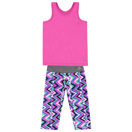 Conjunto Infantil Feminino Regata + Legging Kyly Moving 109585.40064.4