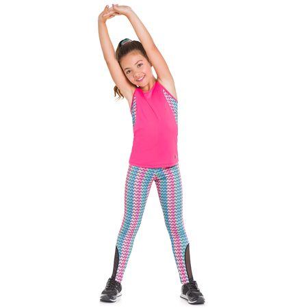 Conjunto Infantil Feminino Regata + Legging Kyly Moving 109803.12870.10