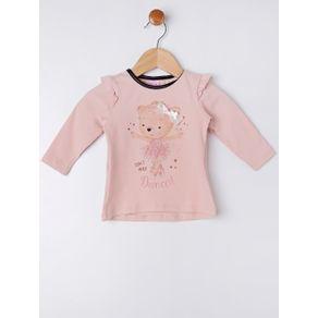 Conjunto Infantil para Bebê Menina - Bege/preto G