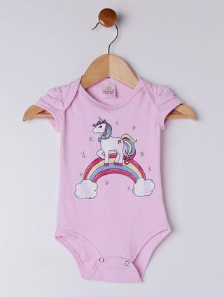 Conjunto Infantil para Bebê Menina - Rosa/marinho