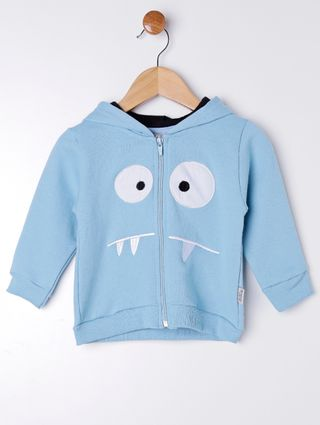 Conjunto Infantil para Bebê Menino - Azul/cinza