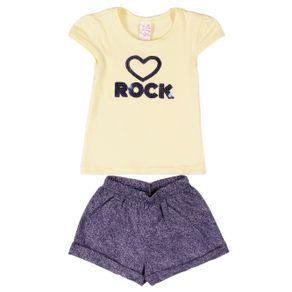 Conjunto Infantil para Menina - Amarelo 6