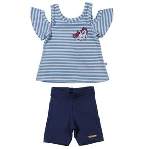 Conjunto Infantil para Menina - Azul 6