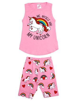 Conjunto Infantil para Menina - Rosa Pink
