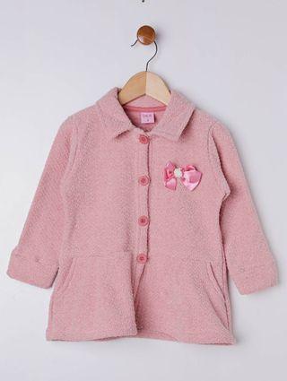 Conjunto Infantil para Menina - Salmão/rosa