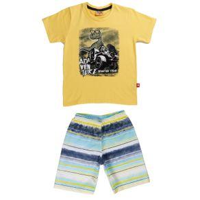 Conjunto Infantil para Menino - Amarelo 2