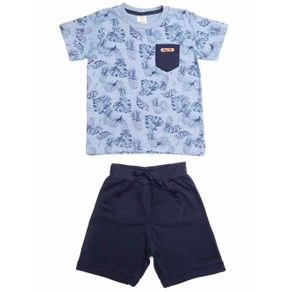 Conjunto Infantil para Menino - Azul 1