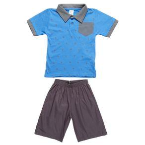 Conjunto Infantil para Menino - Azul 4
