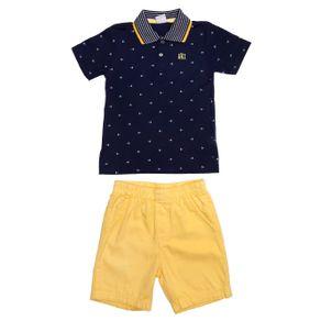 Conjunto Infantil para Menino - Azul/amarelo 3