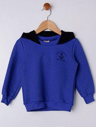 Conjunto Infantil para Menino - Azul/preto