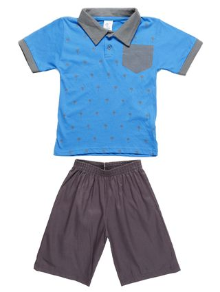 Conjunto Infantil para Menino - Azul
