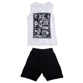 Conjunto Infantil para Menino - Branco/preto 4