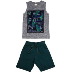 Conjunto Infantil para Menino - Cinza/verde 6