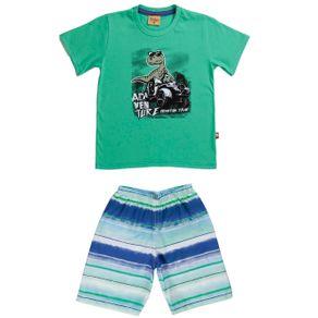 Conjunto Infantil para Menino - Verde 1