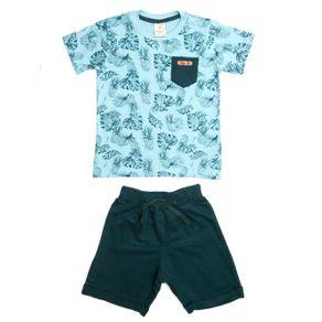 Conjunto Infantil para Menino - Verde 2