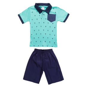 Conjunto Infantil para Menino - Verde 10