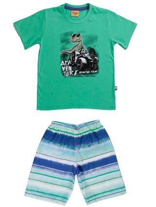 Conjunto Infantil para Menino - Verde