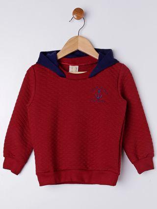 Conjunto Infantil para Menino - Vermelho/azul Marinho