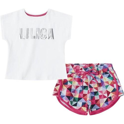 Conjunto Lilica Ripilica Branca Bebê Menina