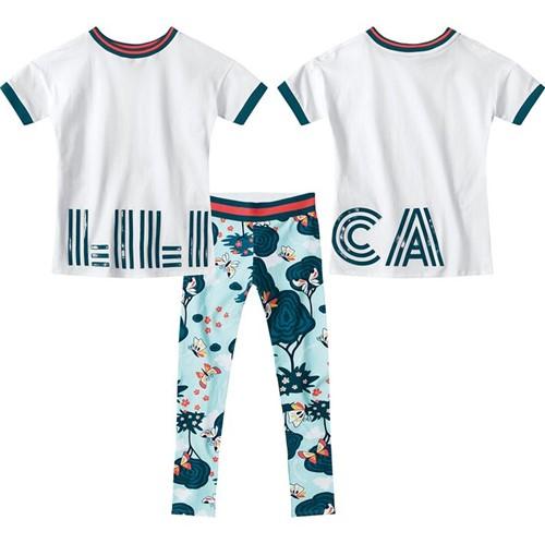Conjunto Lilica Ripilica Branco Bebê Menina