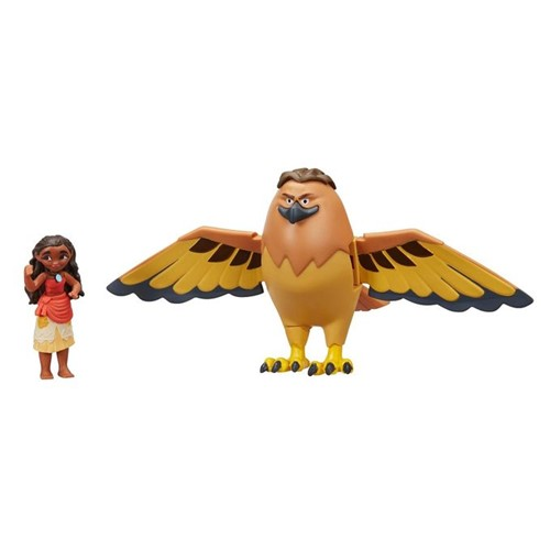 Conjunto Moana - Maui Falcão e Mini Moana - Hasbro - HASBRO