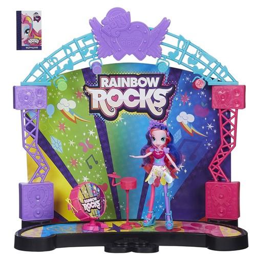 Conjunto - My Little Pony - Equestria Girls Palco Pop HASBRO