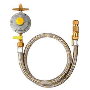 Conjunto P/ Gás 1P-13 Engate C/Reg.Dom 14598 Jackwal