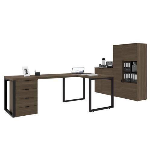 Conjunto para Home Office Kappesberg 5 Peças Munique