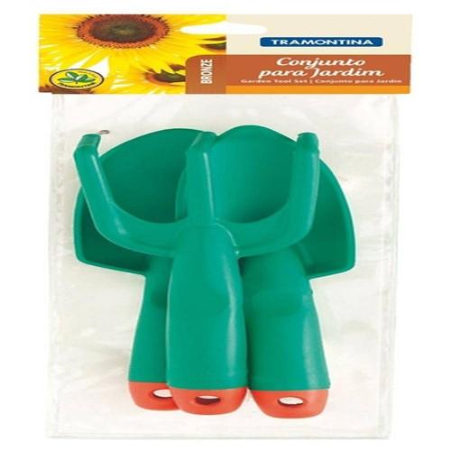 Conjunto para Jardim Plastico 3pc - 78111800 - Tramontina Multi