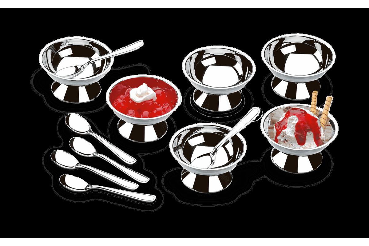 Conjunto para Sorvete e Sobremesa 12 Peças - Jornata