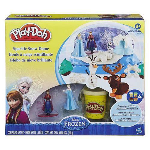 Conjunto Pd Frozen Globo de Neve