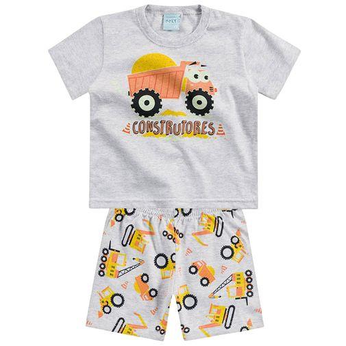 Conjunto Pijama - Construtores - Cinza - Kyly 1
