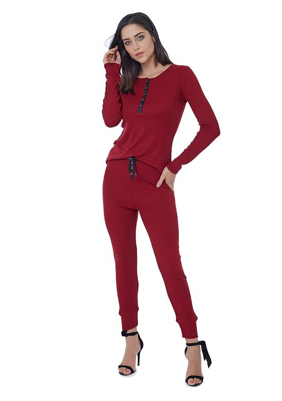 Conjunto Pijama de Ribana