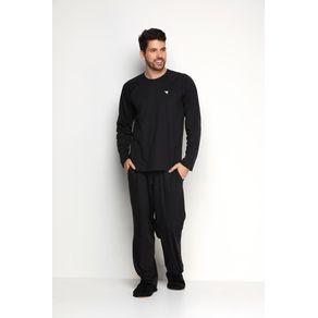 Conjunto Pijama Masculino Malha - Hamburgueria P