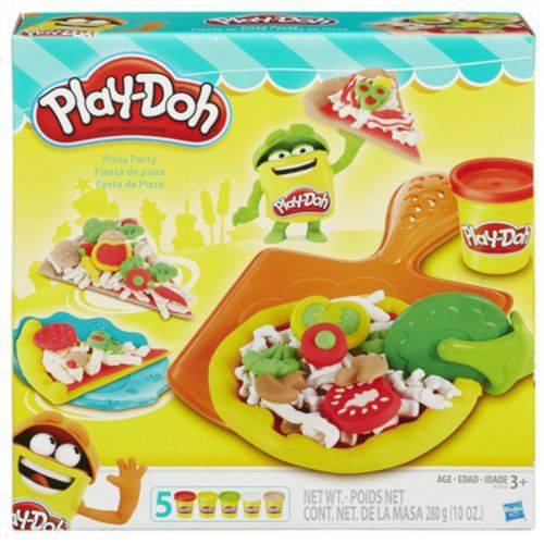 Conjunto Play-Doh Festa da Pizza - Hasbro
