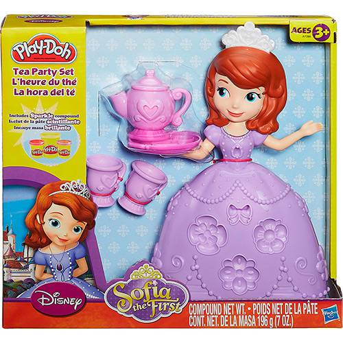 Conjunto Play-Doh Festa do Chá Sofia - Hasbro