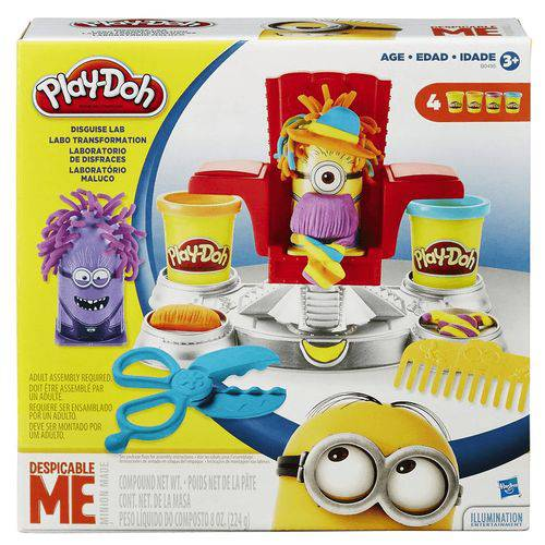 Conjunto Play-doh Meu Malvado Favorito Laboratório dos Minio
