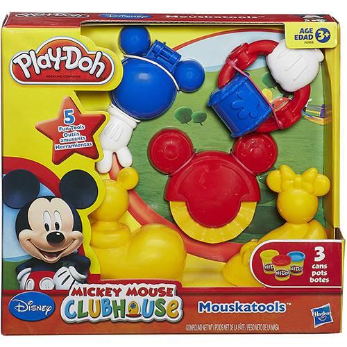 Conjunto Play-Doh Molde Mickey Mouse Club - Hasbro