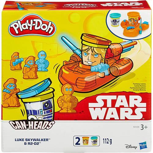 Conjunto Play-Doh Star Wars Luke Skywalker e R2-D2 - Hasbro