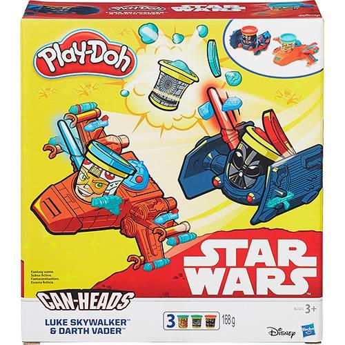 Conjunto Play-Doh Star Wars Veículo Luke Skywalker e Darth Vader - Hasbro