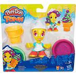Conjunto Play-Doh Town com Figura Sorvete - Hasbro