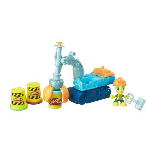 Conjunto Play Doh Town Escavadora - Hasbro
